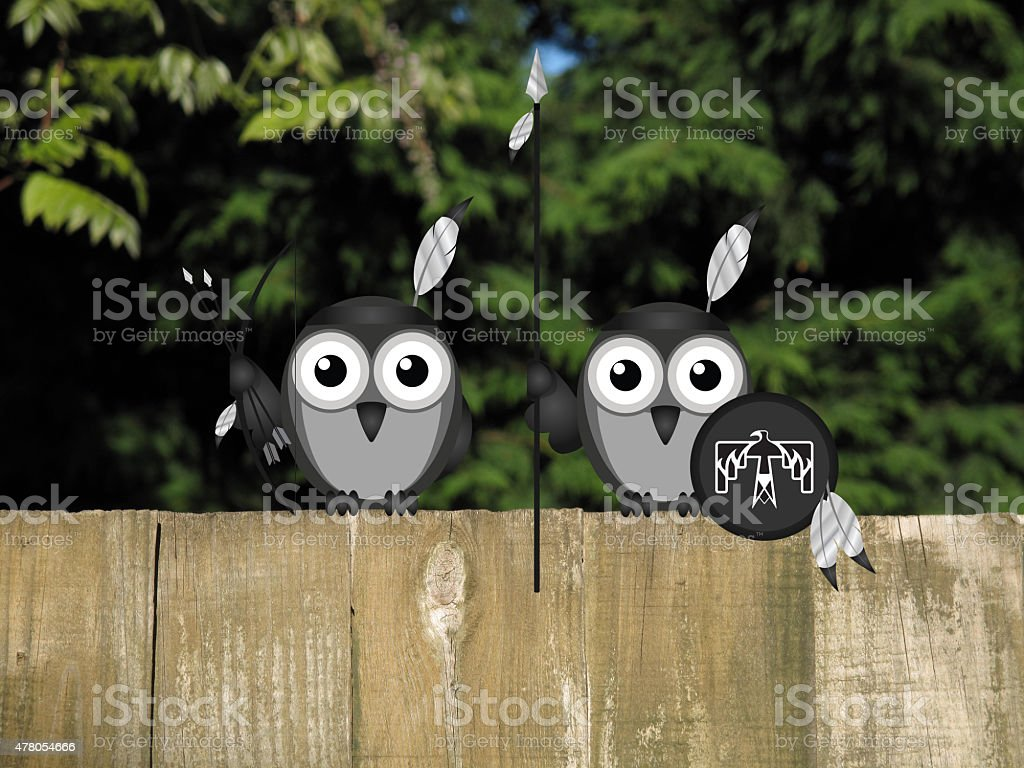 Bird Hunting Party stock photo