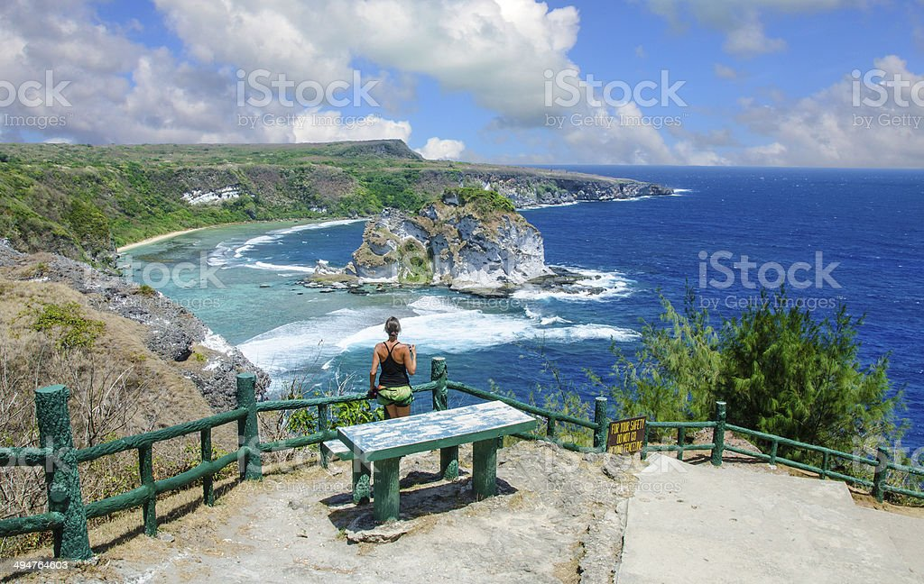 Bird Island Overlook stock photo