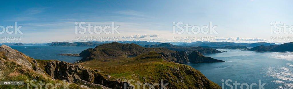 Bird Mountain - Norway stock photo