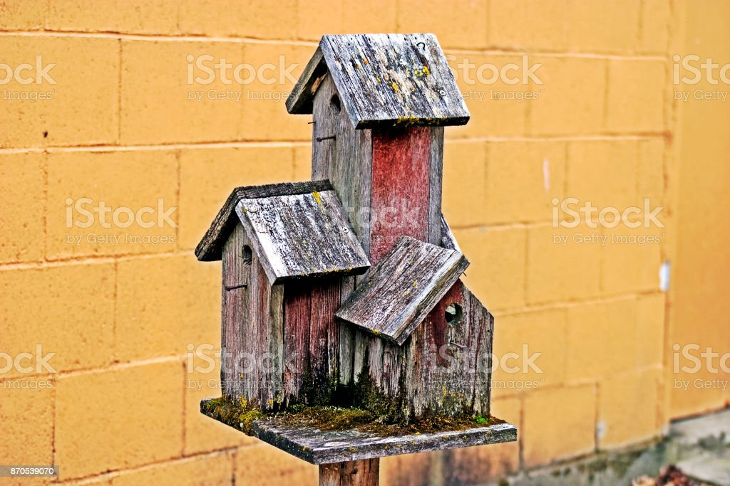 Bird Tower stock photo