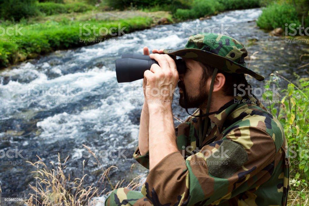 Observação de aves na natureza - foto de acervo