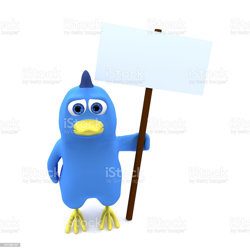 Bird With Banner Stock Photo Download Image Now Istock