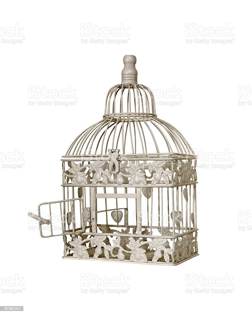 Birdcage royalty-free stock photo