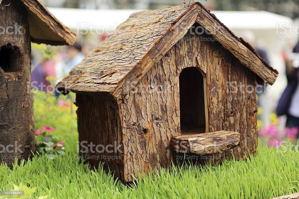 Birdhouse royalty-free stock photo