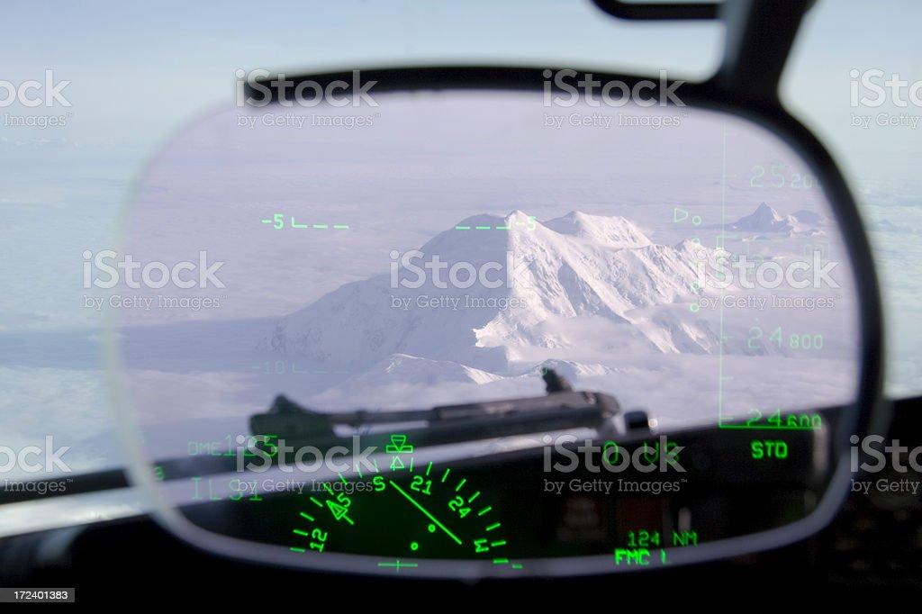 birds eye view - heads up navigation royalty-free stock photo
