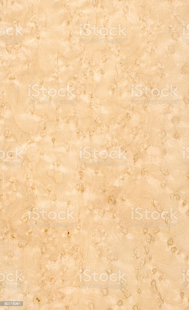 Birdseye Maple - Wood Texture Series royalty-free stock photo