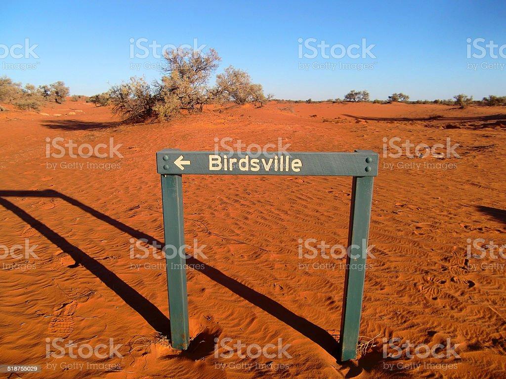 Birdsville, QLD, Australia stock photo