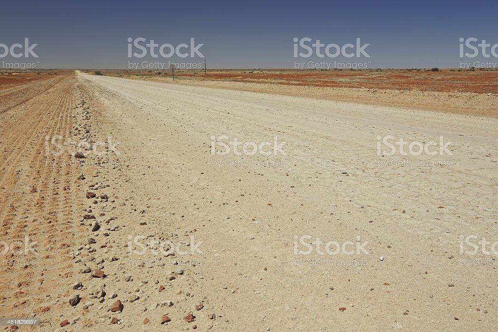 Birdsville Track stock photo