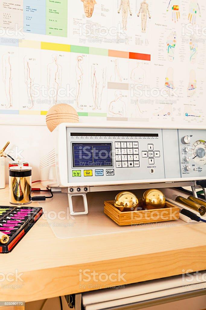 Biresonance therapy machine stock photo