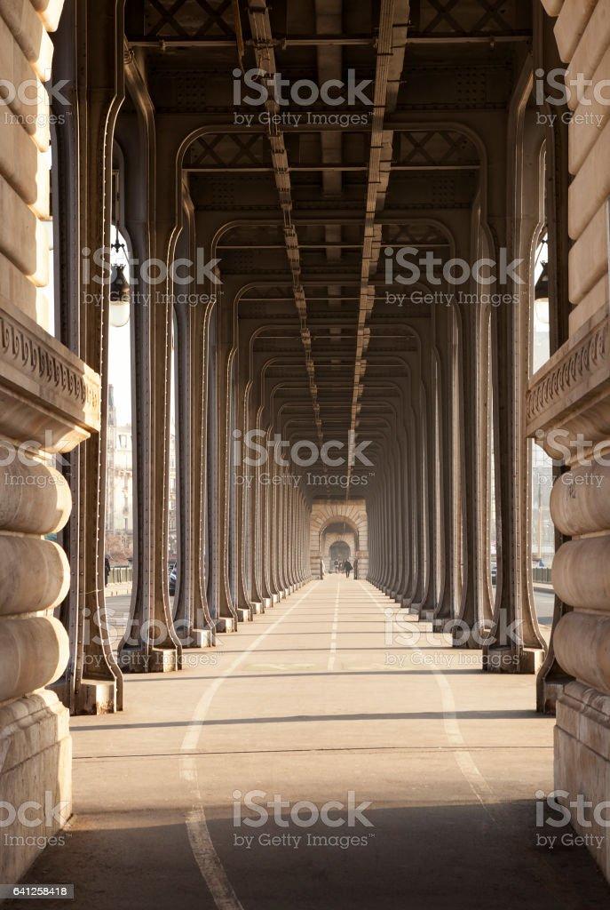 Pont de Bir-Hakeim à Paris - Photo