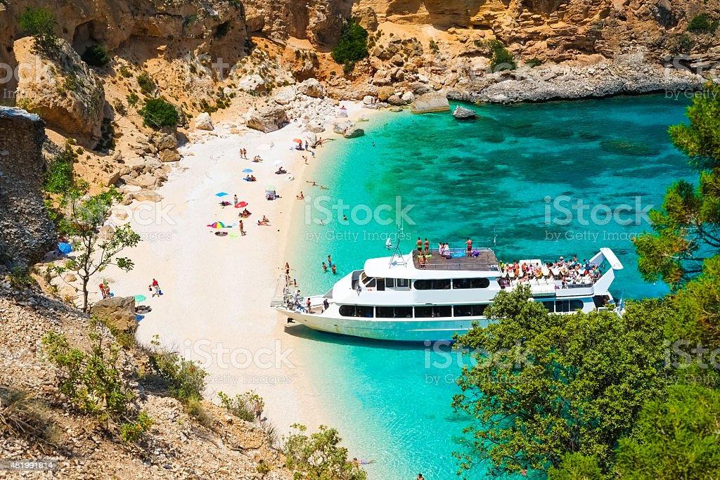 Biriola beach stock photo