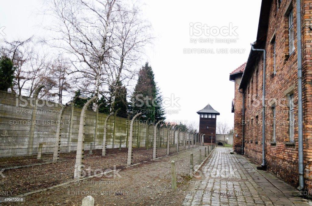 Birkenau Konzentrationslager in Oswiecim, Polen – Foto