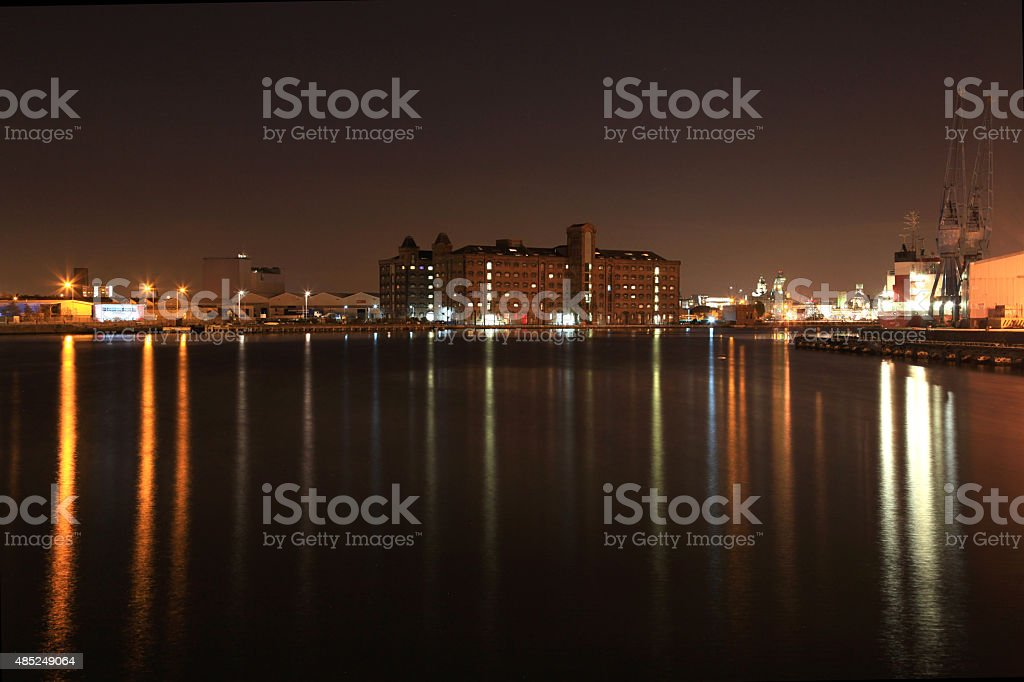 Birkenhead Dock Beauty royalty-free stock photo