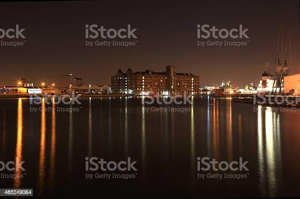 Birkenhead Dock Beauty Stock Photo - Download Image Now