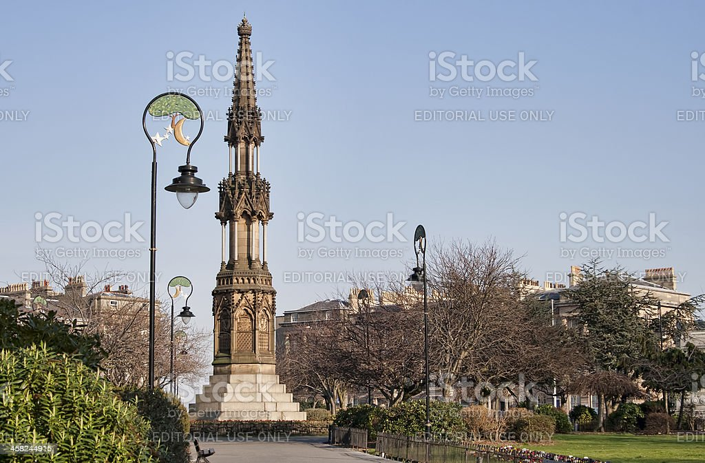 Birkenhead Hamilton Square wirral merseyside. stock photo
