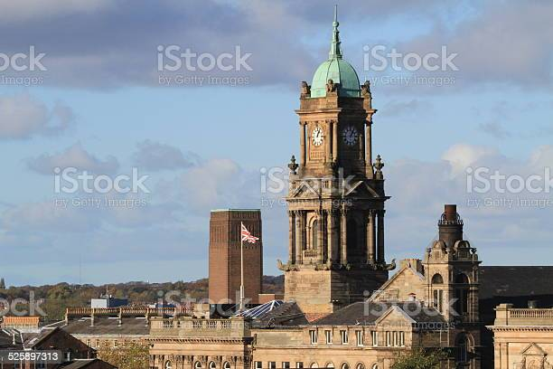 Birkenhead Town Hall Stock Photo - Download Image Now