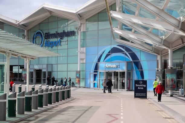 Birmingham Airport UK stock photo