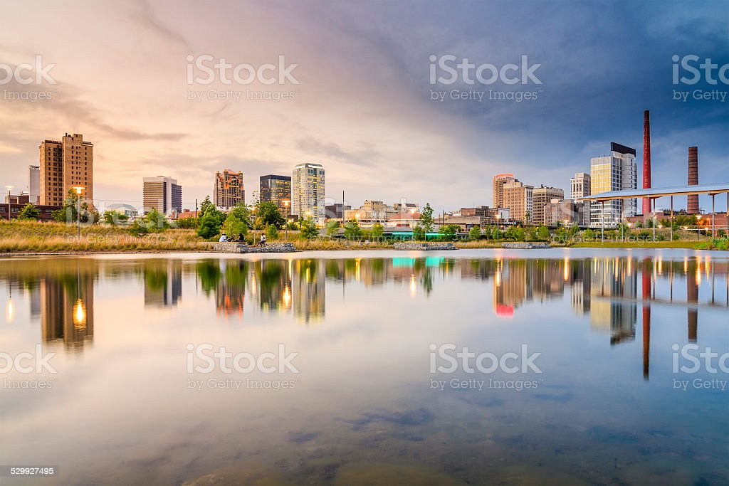 Birmingham, Alabama City Skyline stock photo