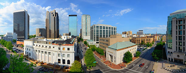 Birmingham, Alabama Panorama stock photo