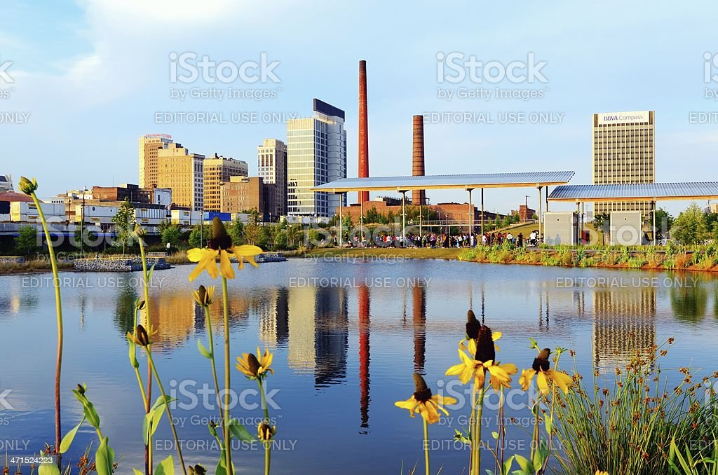 Birmingham, Alabama stock photo