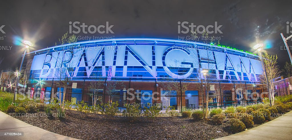 birmingham alabama regions field minor league baseball stock photo