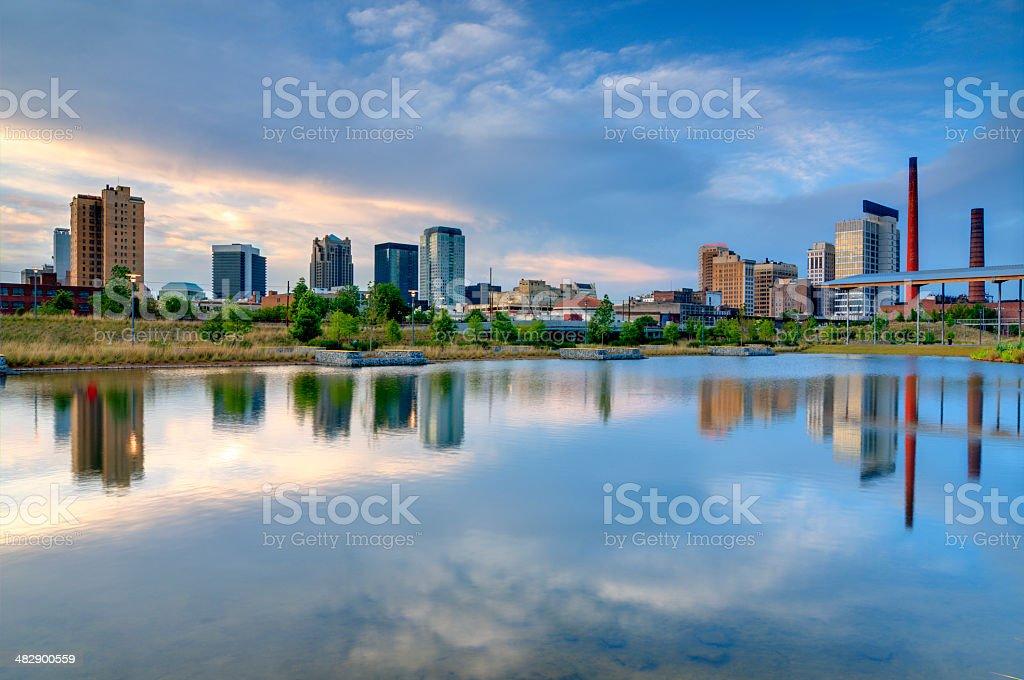 Skyline von Birmingham, Alabama – Foto