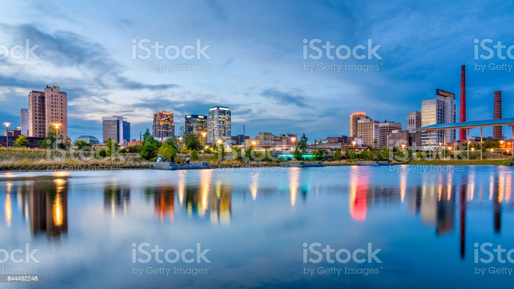 Birmingham, Alabama, USA stock photo