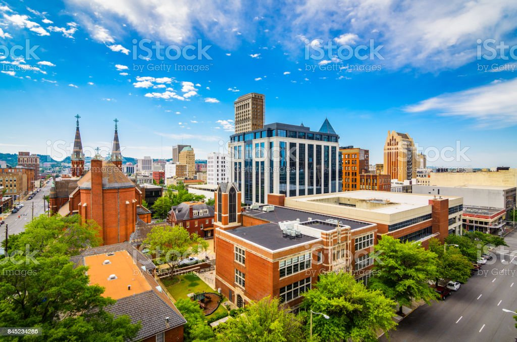 Birmingham Alabama USA stock photo