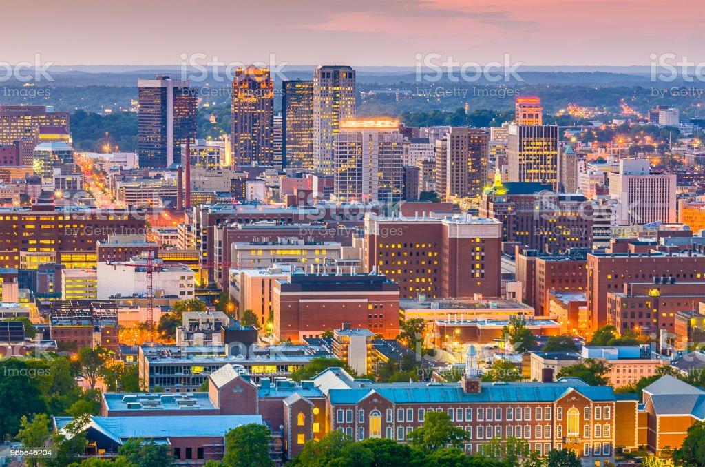 Birmingham, Alabama, USA Skyline stock photo
