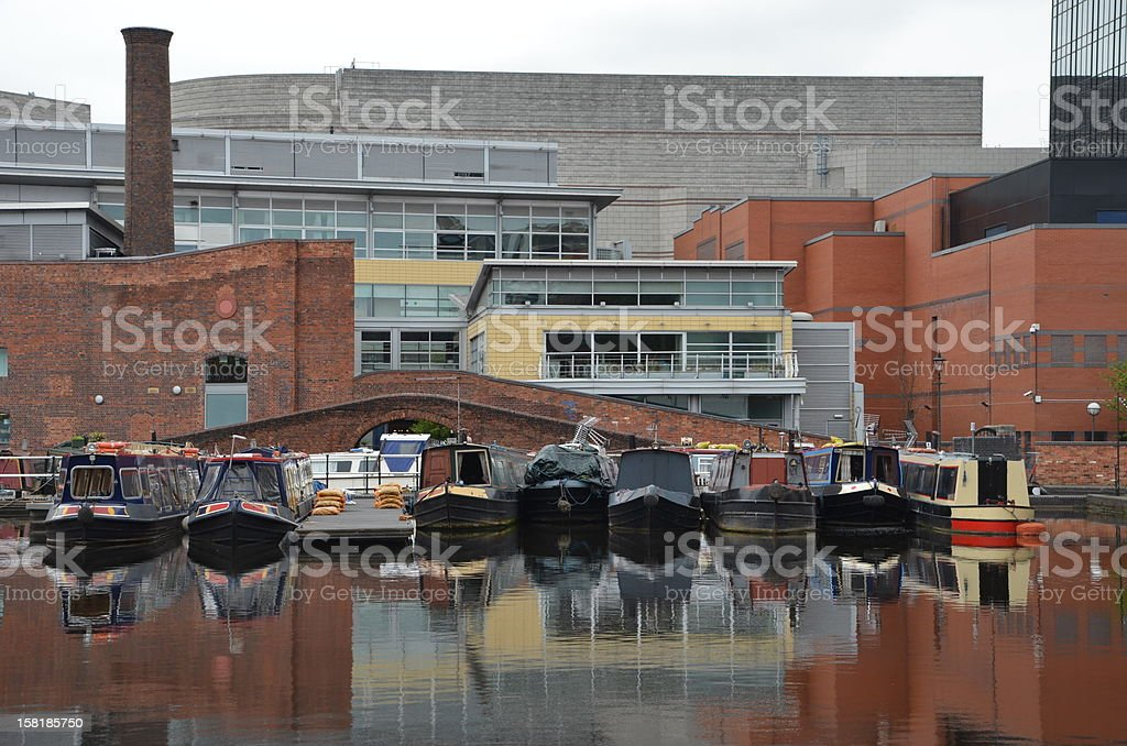 Birmingham Canal Navigations stock photo