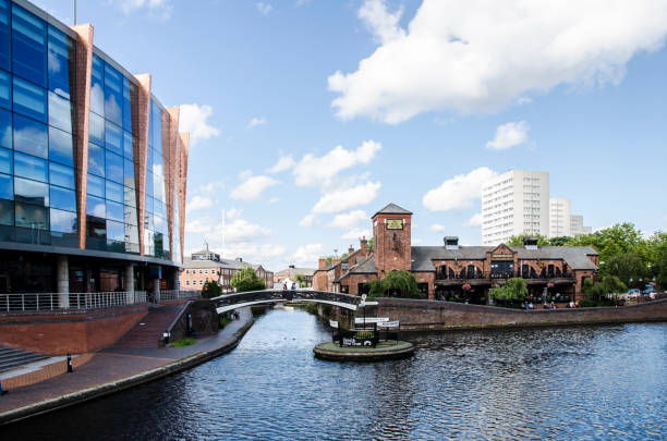 Birmingham Canal Old Line stock photo