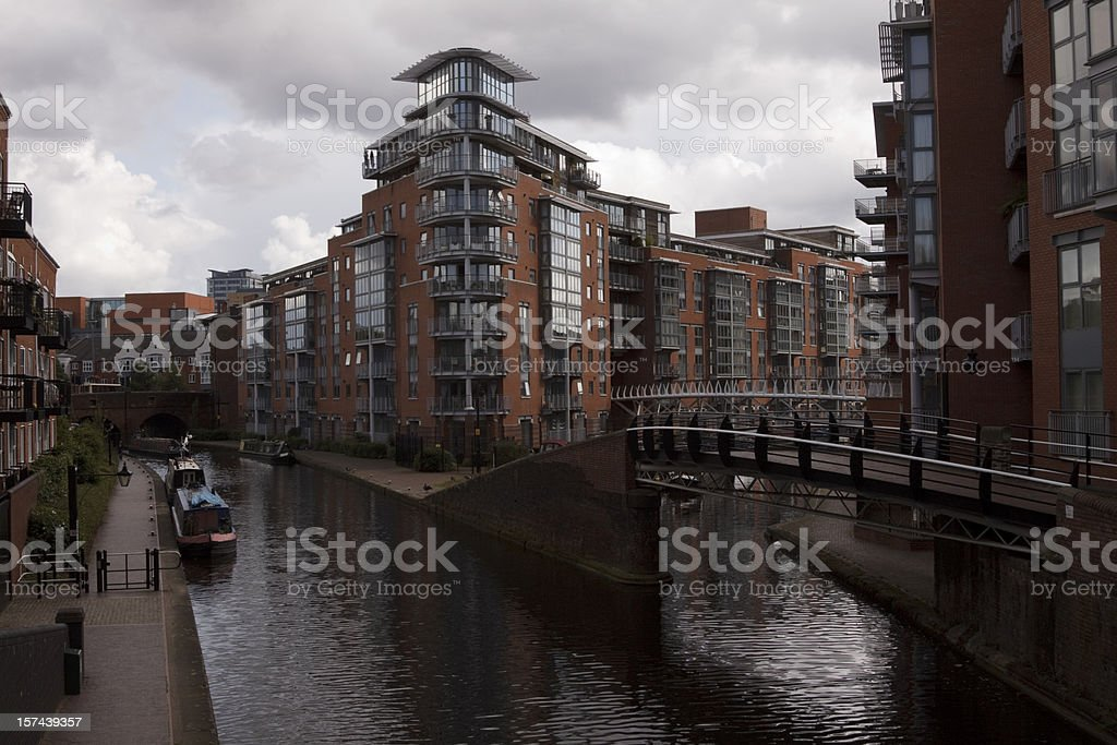 Birmingham Canals royalty-free stock photo