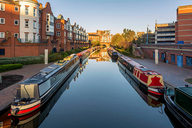 Birmingham canals a canal network in Birmingham canal stock pictures, royalty-free photos & images
