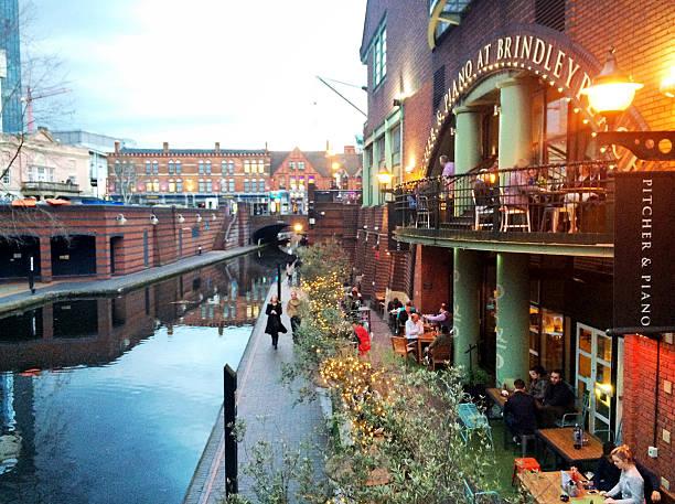 Kanäle in Birmingham – Foto
