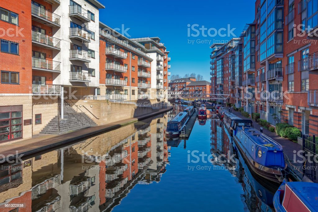 Birmingham Canals stock photo