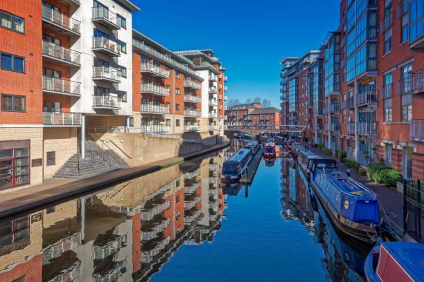 Birmingham Canals stock photo