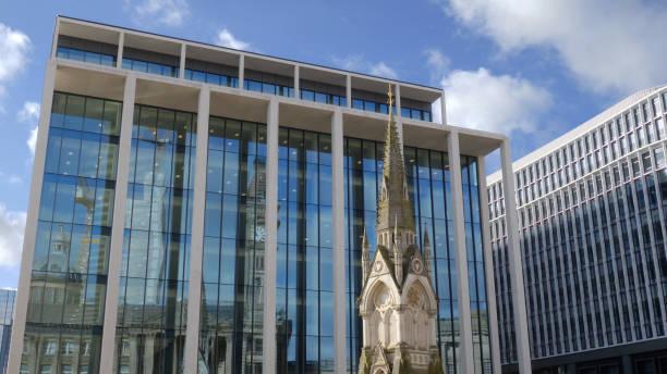 Birmingham Chamberlain Memorial 2020. stock photo