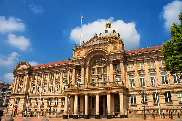 Birmingham City Council House at the Victoria Square stock photo