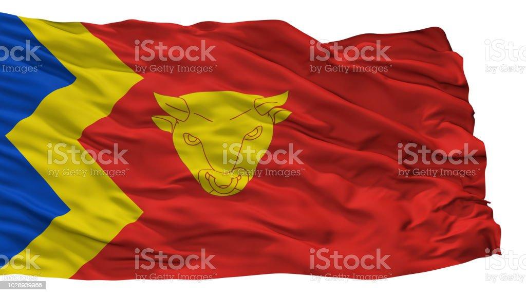 Birmingham City Flag, Uk, Isolated On White Background stock photo