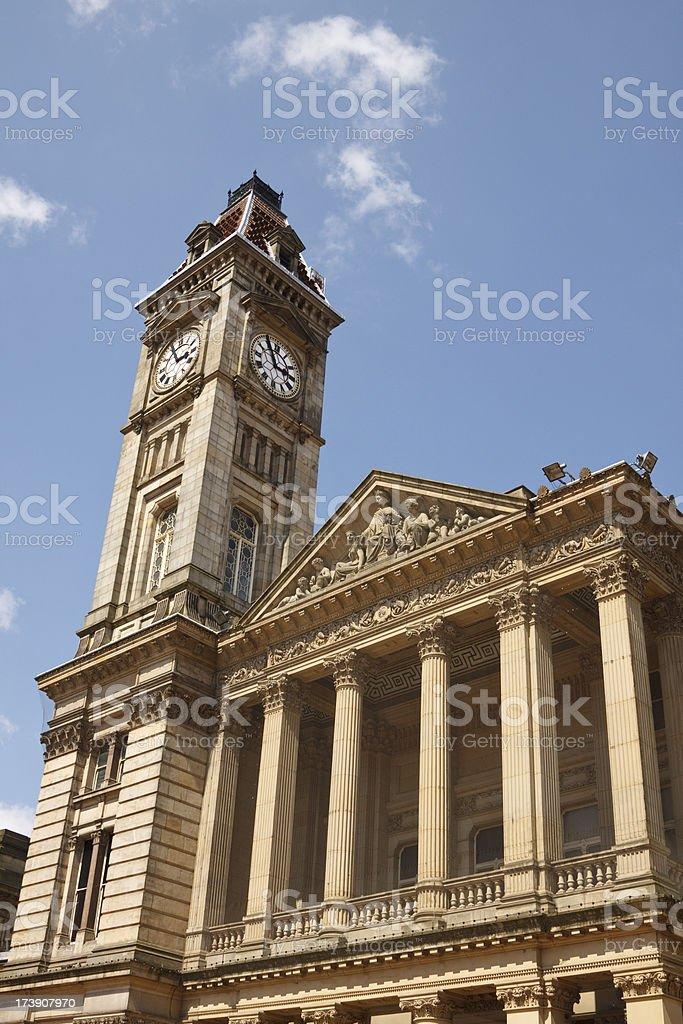 Birmingham city hall royalty-free stock photo