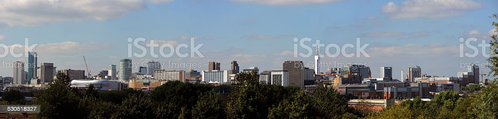 Birmingham City Skyline - Stock Photo stock photo
