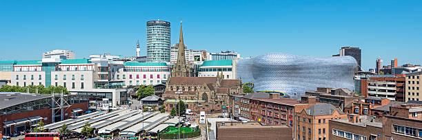 Skyline von Birmingham, England, Großbritannien – Foto