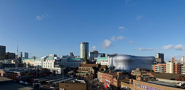 Birmingham Stadt panorama – Foto