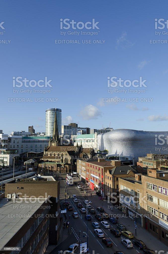 Birmingham cityscape stock photo