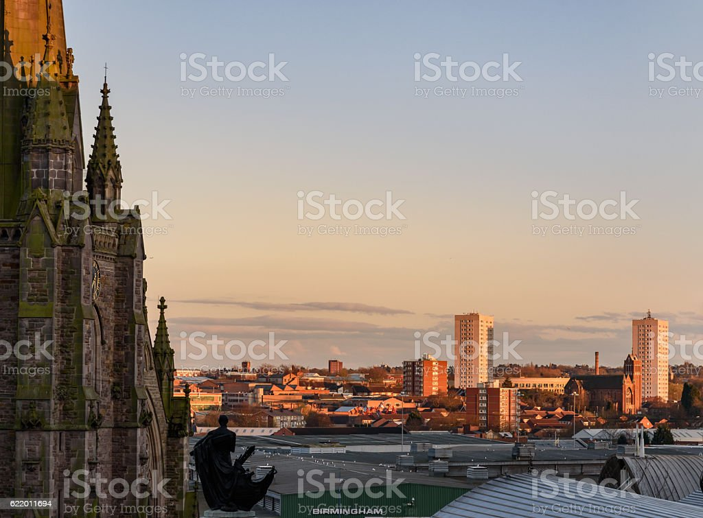Birmingham England stock photo