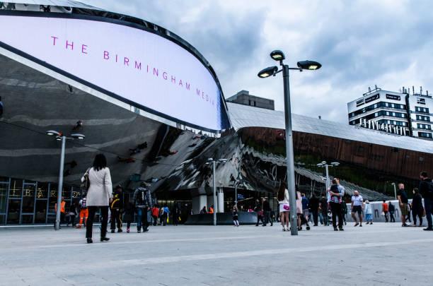 Birmingham New Street Station stock photo