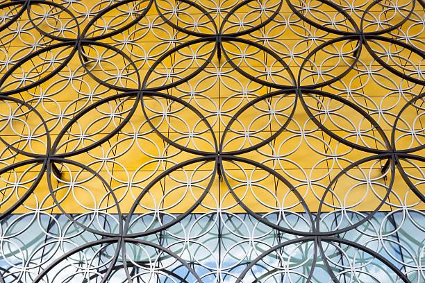 Birmingham (UK) Pubic Library Close-up stock photo