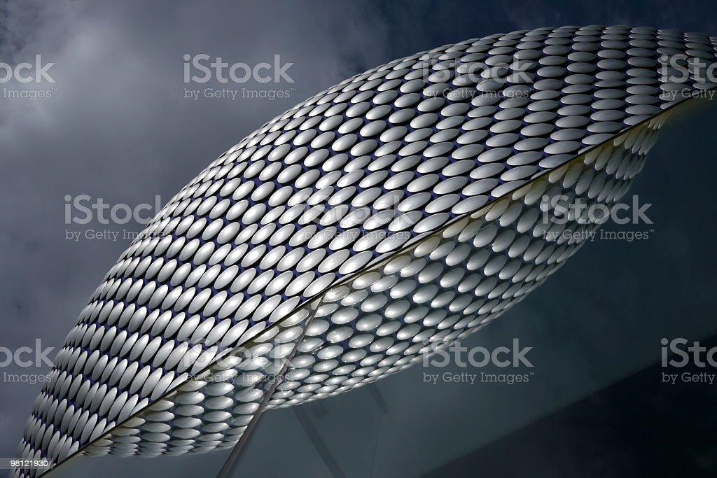 Birmingham Selfridge's Reflection royalty-free stock photo
