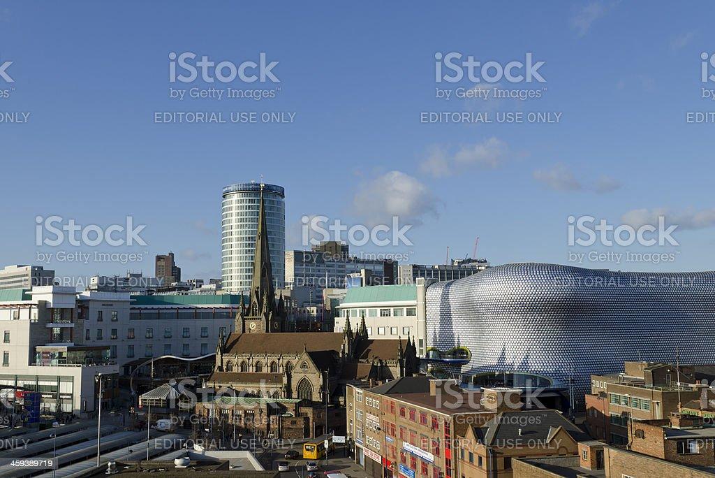 Birmingham skyline royalty-free stock photo