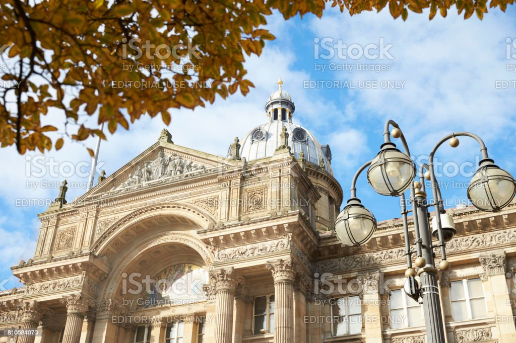 Birmingham, UK - 6 November 2016: Exterior Of Birmingham City Council Building In Victoria Square stock photo